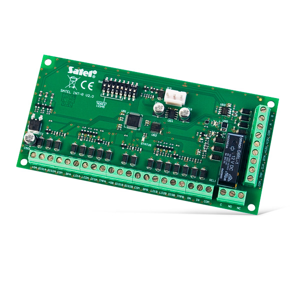 INT-R Multifunction expander for card / chip readers